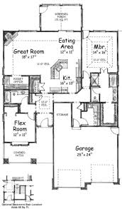 Arts And Crafts Style House Plans Craftsman Style House Plan 2 Beds 2 00 Baths 1802 Sq Ft Plan 20