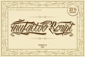 20 cool tattoo fonts for your next vintage design creative