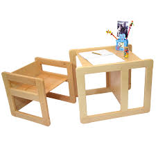 Small Chair 3 In 1 Childrens Multifunctional Furniture Set Of 2 One Small
