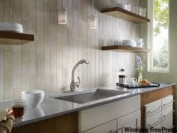 Backsplash Ideas No Upper Cabinets The Fusion Kitchen Winnipeg - No backsplash