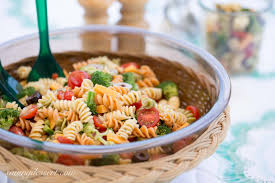 easy pasta salad with zesty italian dressing saving room for dessert