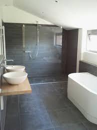 bathroom slate tile ideas 39 grey bathroom floor tiles ideas and pictures
