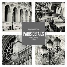 paris small prints 5x5 photos paris gallery wall photography