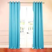 Grommet Curtains 63 Length Turquoise Curtains