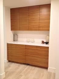 IKEA Kitchen With Semihandmade Flatsawn Teak Fronts Ideas - Custom doors for ikea kitchen cabinets