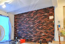 Best Colors For Painting Outdoor Brick Walls by Pbjstories How To Paint An Interior Brick Wall Pbjreno