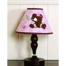 geenny teddy bear lamp shade baby baby decor lighting