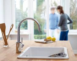 kitchen sinks and faucets designs luxury kitchen faucets and designs immerse st louis