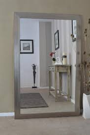 Bevelled Floor Mirror by Mirrors Outstanding Oversized Silver Mirror Oversized Silver