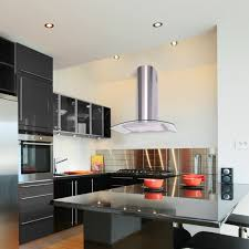 kitchen island extractor hoods kitchen stylish island extractor cooker black s for