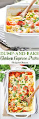Pasta Recipes by Dump And Bake Chicken Caprese Pasta The Seasoned Mom