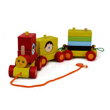 wooden train set for toddlers stacking wooden educational toys