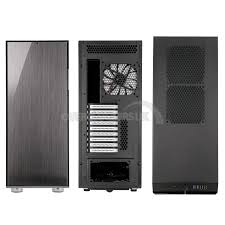 fractal design define xl r2 fractal design define xl r2 midi tower titanium grey ocuk