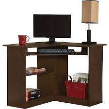 mission oak corner computer desk incredible corner computer desk within easy2go resort cherry staples
