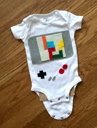 Tetris Halloween Costume Diy Baby Game Boy Costume
