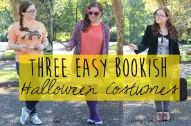 3 easy bookish halloween costumes sincerely sara style