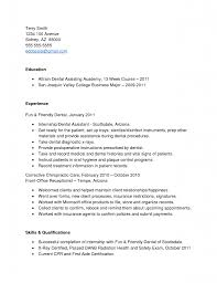 Receptionist Cv Example Top Dental Assistant Resume No Experience Cv Sample