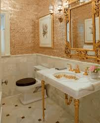 Gold Bathroom Fixtures To Da Loos Gold Faucets Giving Your Bathroom The Midas Touch