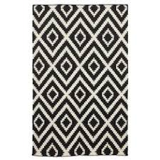 Modern Black And White Rugs Modern Black And White Bath Rug Home Rugs Ideas In Mat