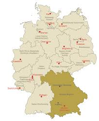 Locator Map Map Of Germany Solution Conceptdraw Com
