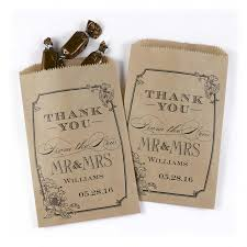 custom favor bags 50 vintage floral wedding favor bags personalized wedding favors