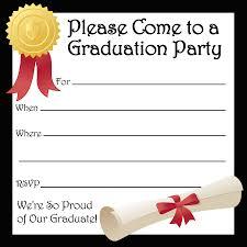 graduation party invitations 40 free graduation invitation templates template lab