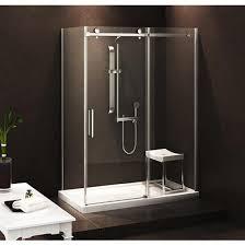 Canada Shower Door Zitta Canada Dbl4800astc21 At Bathworks Showrooms Sliding Shower Doors