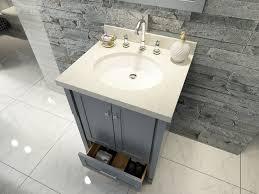 Bathroom Vanity Paint Ideas Gray Bathroom Vanity Grey Shaker Style Bath Vanity With Carrara