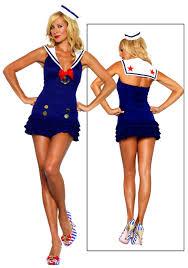 Sailors Halloween Costumes Ruffled Sailor Dress Costume Halloween Costumes