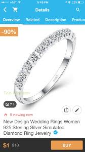 has anyone bought jewelry from the wish app weddingbee