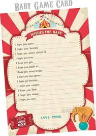 circus baby shower vintage circus baby shower theme baby shower themes