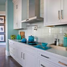 Blue Backsplash Kitchen All You Need To Know About Glass Backsplash Ward Log Homes