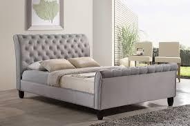 Tufted Sleigh Bed Big Modern Upholstered Sleigh Bed Queen Ideas U2014 Vineyard King Bed