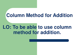 year 3 column addition by abegum5002 teaching resources tes
