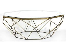 Coffee Table Antique Marlow Geometric Coffee Table Antique Brass Ugalleryfurniture