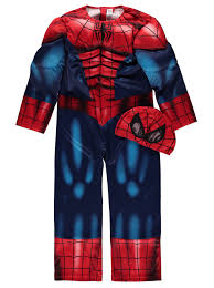 spiderman halloween costumes for kids spiderman fancy dress costume kids george at asda