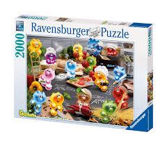 puzzle cuisine ravensburger puzzle 2000 pièces gelini tous en cuisine