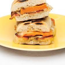 cuisine patate douce paninis aux patates douces au cheddar et au bacon ricardo