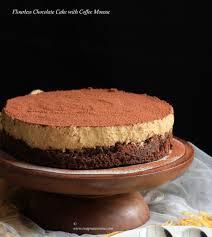 swapna u0027s cuisine flourless chocolate cake with coffee mousse
