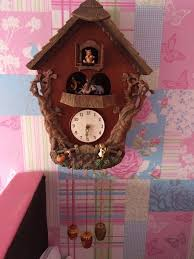 Winnie The Pooh Rocking Chair Winnie The Pooh Classic Rare Cuckoo Clock Antique In Redfield