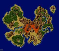 World Map Game Chrono Trigger Maps World Maps