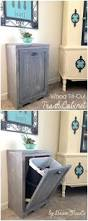 Kitchen Cabinet Trash Can Pull Out Trash Can Slider Cabinet Diy Trash Can Pullout Cabinet Ikea Trash