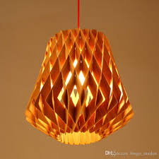 decorative lights for home modern handmade diy wood led pinecone pendant lights home