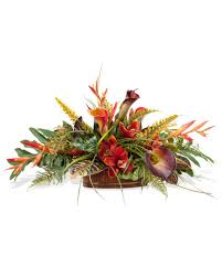 amazon com orchid u0026 calla lily silk centerpiece home u0026 kitchen