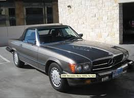 mercedes for sale by owner 1986 mercedes 560sl convertible for sale by owner on calling all