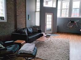 leather couch eames chair offi side table apartment