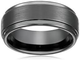 tungsten mens wedding bands 8mm tungsten metal s wedding band ring in comfort fit and