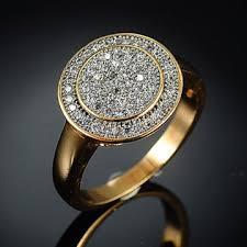 fashion wholesale rings images China wholesale latest fashionable design 21k gold letter ring jpg