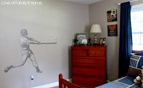 inspiration for parker u0027s baseball bedroom love of family u0026 home