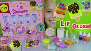 diy ice cream lip shimmer gloss mix u0026 makeup make your own lip